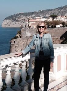 Claudia in Italy