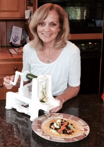 Claudia and the Spiralizer